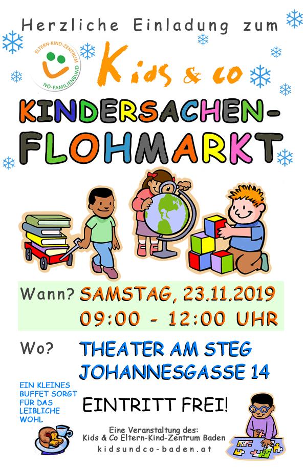 Kids & Co Kindersachen-Flohmarkt Baden 2019