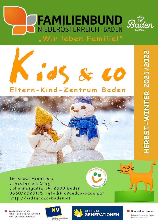 Kids & Co Programm Herbst-Winter 2021-2022